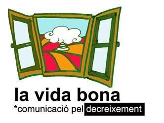 la vida bona comunicación pel decreixement lutxana logo