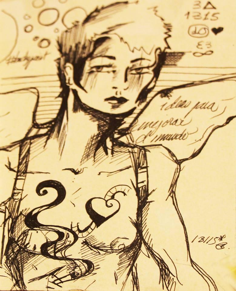 ilustraciones infinitas dandee girls lutxana art social tercer sector ilustraciones creatividad