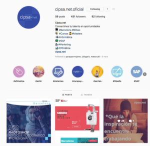 contenidos digitales marketing digital instagram