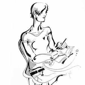 mi piano es mi libreta, ilustraciones infinitas, lutxana art