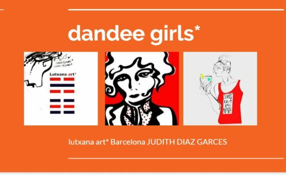 dandee girls project art lutxana art barcelona