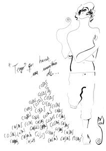 ilustración camiseta lutxana de omonette