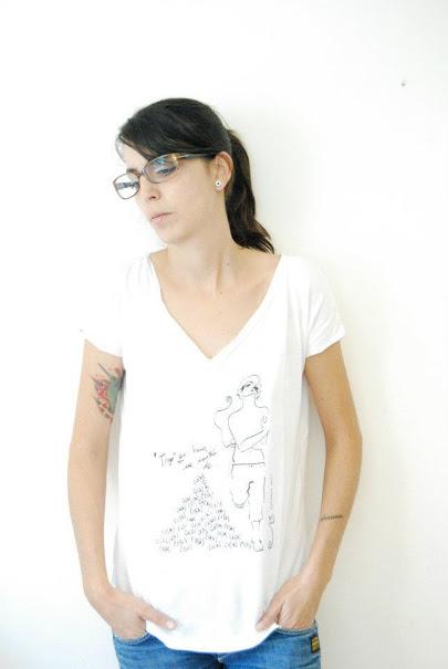 diseño camiseta lutxana ilustracion marca omonette