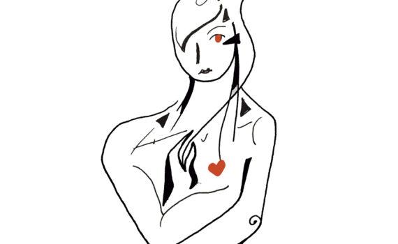 lutxana ilustraciones amor propio niña interior
