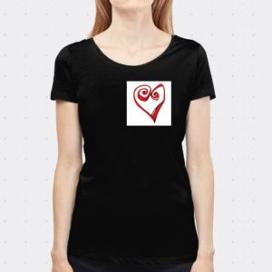 camiseta heart lutxana regalos originales