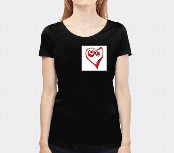 camiseta heart lutxana regalos originales